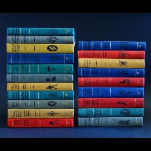 Авторский коллектив - Библиотека приключений (комплект из 20 книг)