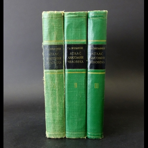 Синельников Р.Д. - Атлас анатомии человека в 3 томах (комплект из 3 книг)