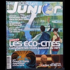 Science & Vie Junior - №257 (Fevrier 2011)
