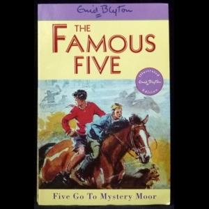 Блайтон Энид - The Famous Five. Five Go to Mystery Moor (Тайна цыганского табора)