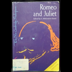 Шекспир Уильям - Romeo and Juliet. Edited by G.Blakemore Evans. Update Edition (Ромео и Джульетта)