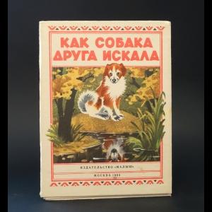 Авторский коллектив - Как собака друга искала. Книжка-раскладушка
