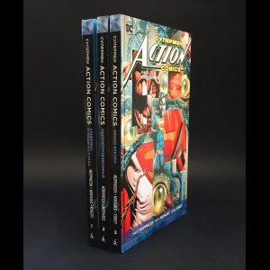 Моррисон Грант  - Супермен Action Comics (комплект из 3 книг)