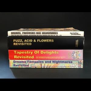Vernon Joynson - Dreams, fantasies and nightmares. Fuzz, ACID & flowers revisited. Tapestry of delights revisited. Dreams, fantasies and nightmares revisited (комплект из 4 книг)